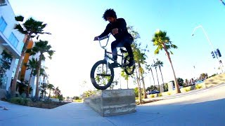 BMX - HOW TO NOSE BONK 180 WITH LAHSAAN KOBZA