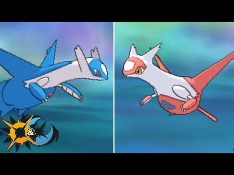 How To Get Latios and Latias in Pokémon Ultra Sun and Ultra Moon!