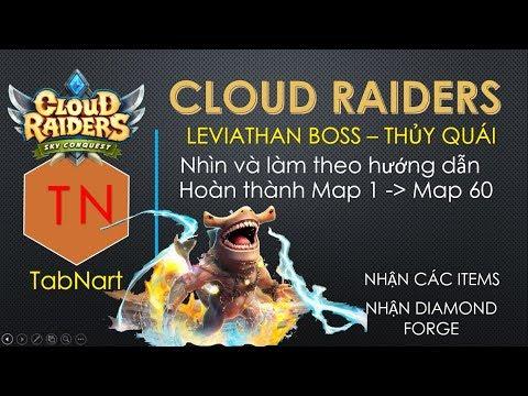 Cloud Raiders Việt Nam I Hướng dẫn Hack Boss Leviathan Game Cloud Raiders 2 Insight I Phiên bản 1