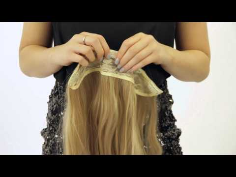 How to Apply 3 Piece Hair Extensions