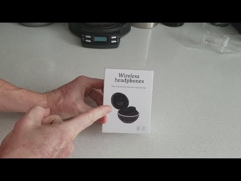 Wireless Bluetooth Airpods With Touch Panel For Gym Crossfit Jogging Running Sports - Review!!