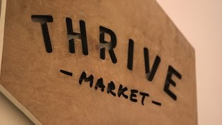 Thrive Market offers affordable organic goods online