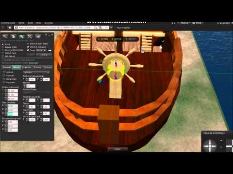 Second Life - Building Ship