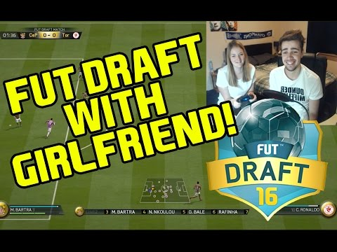 FUT DRAFT WITH MY GIRLFRIEND - Fifa 16 (PS4)