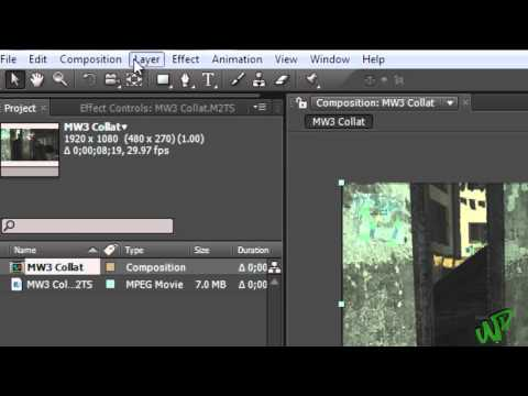 After Effects Tutorial- How To Fast Forward Sections Of Clips