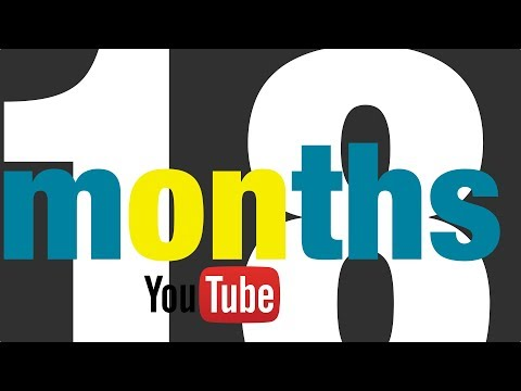 18 months on YouTube #177