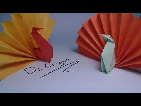 |DIY | Origami  turkey (model 2) -easy tutorial