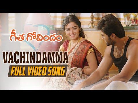Xxx Mp4 Vachindamma Full Video Song Geetha Govindam Vijay Deverakonda Rashmika Parasuram Gopi Sunder 3gp Sex
