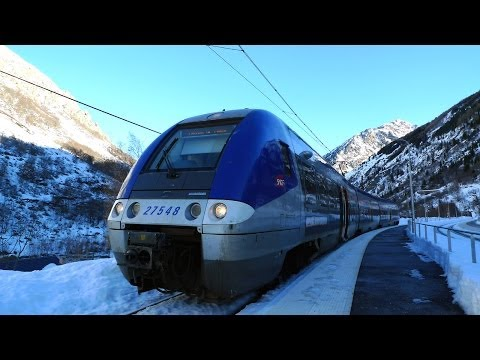 By slow train across the Pyrenees