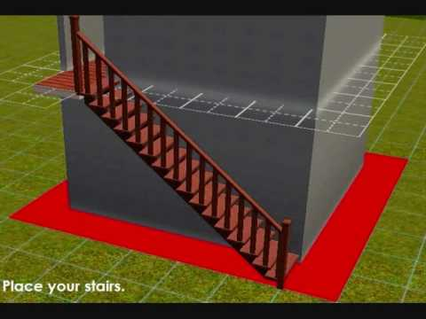 How to build a tree house - Sims 3