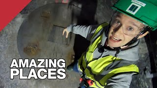 Inside The Tunnels That Will Store Nuclear Waste For 100,000 Years