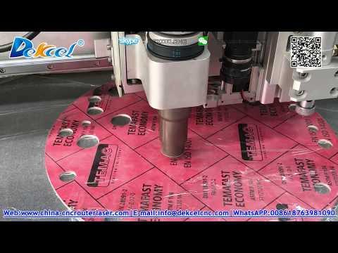 3mm gasket plastic oscillation knife cutting machine