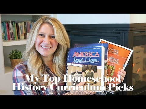 My Top Homeschool History Curriculum Picks