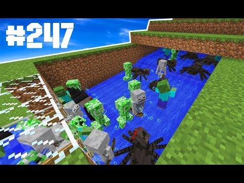 ⭐️Minecraft Survival #247 : PÓLVORA INFINITA (MOB-TRAP PARA CREEPER)