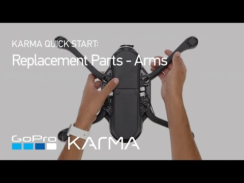 GoPro: Karma Replacement Parts - Arms