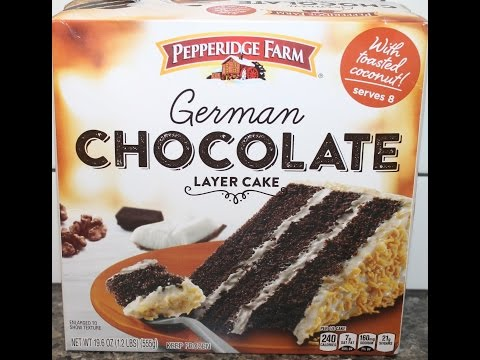 Pepperidge Farm: German Chocolate Layer Cake Review