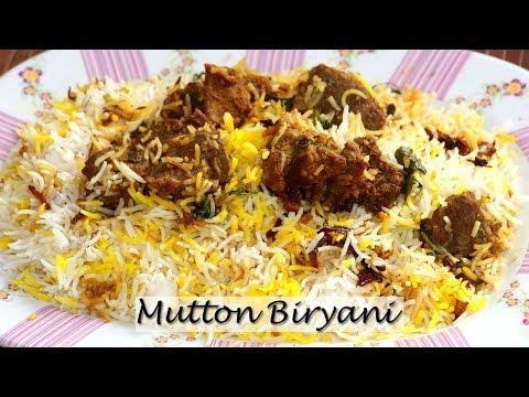Mutton Biryani Recipe | Kachche Gosht ki Biryani | Hyderabadi Dum Biryani