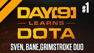 Day[9] Learns Dota - Sven, Bane, Grimstroke Duo Q w/ Purge