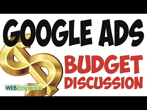 AdWords Budget Discussion - Rules & Strategy - FOUNDATIONAL for AdWords Success!