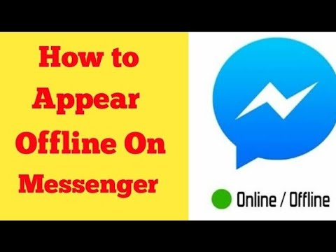 How to appear offiline on facebook messenger 2018...by Mr..Solution