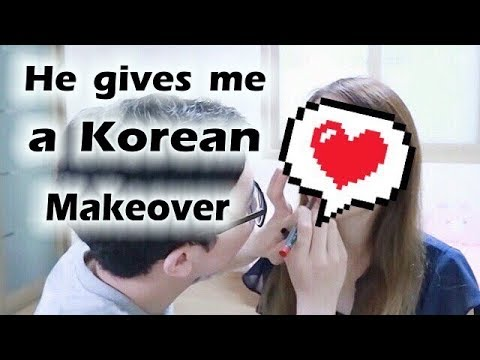 Bf does my makeup KOREAN STYLE