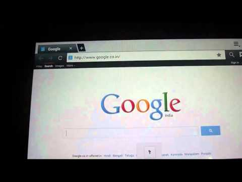Samsung Galaxy Tab:  Delete Browser History (Hindi)