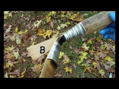 DIY Bamboo Bow (take-down hunting bow, instructions in description)