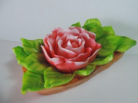 How to Make a flower | carving soap | J.Pereira Carving 100 Aromas