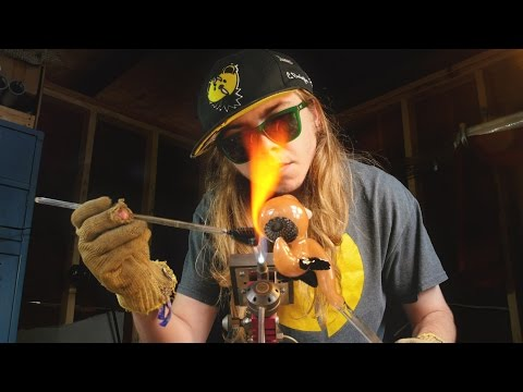 GLASS BY HUNTER | A Glassblowing Time-lapse