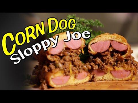 Corn Dog Sloppy Joe