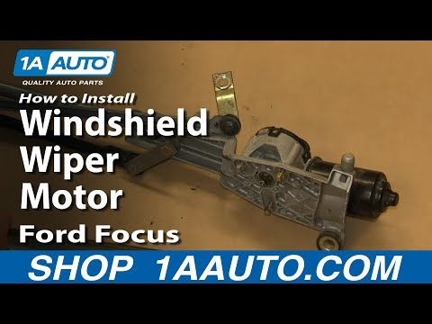 How To Install Replace Windshield Wiper Motor 2002-09 Ford Focus