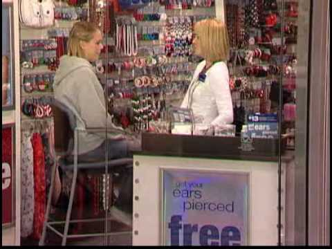 Claires Aftercare Ear Piercing Video