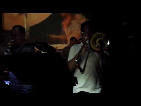 Salsa Band at Nuyorican Cafe in Old San Juan, Puerto Rico