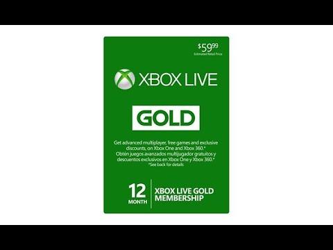 Free Xbox live redeem code