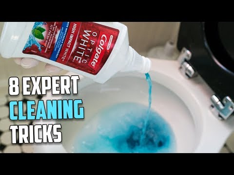 8 Expert Cleaning Tricks using Household Items
