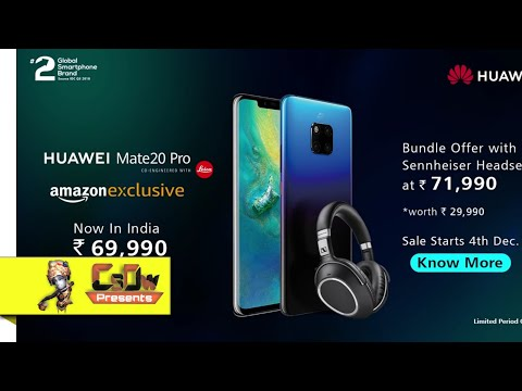 [ Hindi ] Huawei P20 Pro and P20 lite Full Feature Details, Comparison, Lecia Camera Definition.