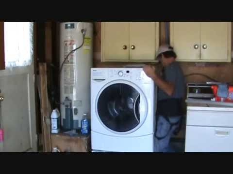How to prevent a washing machine from vibrating...Part 1