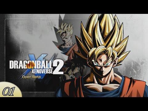 DragonBall Xenoverse 2 - Création & Premiers Pas en Ville ! - Open Beta
