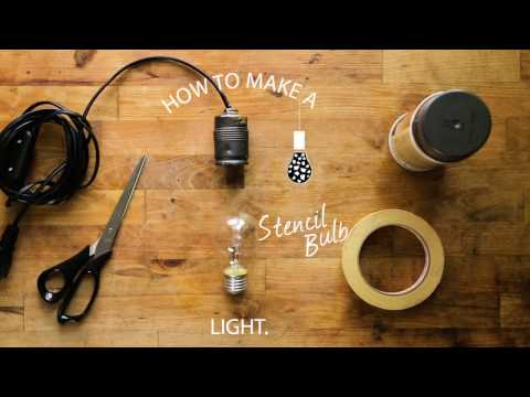 How To: Stencil Light