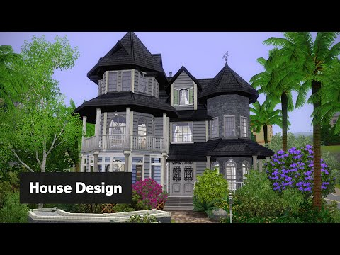 The Sims 3 House Building - Blueberry Breeze