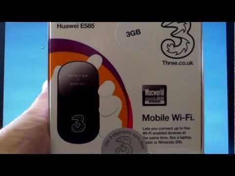 Huawei E585 Mifi Configuration