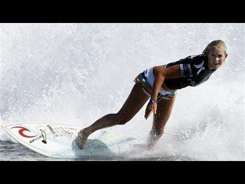 Pro Surfer Bethany Hamilton Looks for Bigger Waves