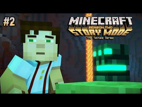 GLOVE PUMA ?? - Minecraft Story Mode Season 2 (Malaysia) // Episod 1 #2