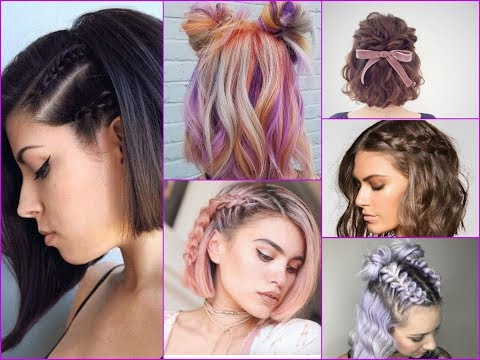 Cute Braided and Updos Hairstyle Ideas For Short Hair