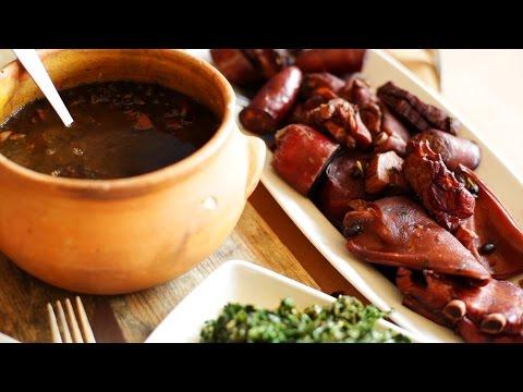 Feijoada - Traditional Brazilian black bean and meat stew