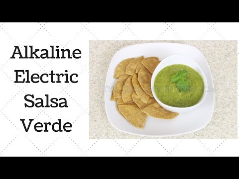Salsa Verde Dr. Sebi Alkaline Electric Recipe