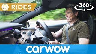 Mercedes E Class Coupe 360 degree passenger ride | Mat Watson Reviews