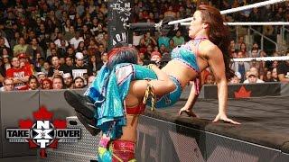 Asuka devastates Mickie James with a suplex: NXT TakeOver: Toronto: November 19, 2016