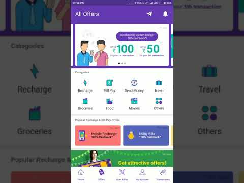 Phonepe App loot - 100% cashback on Electricity Bill