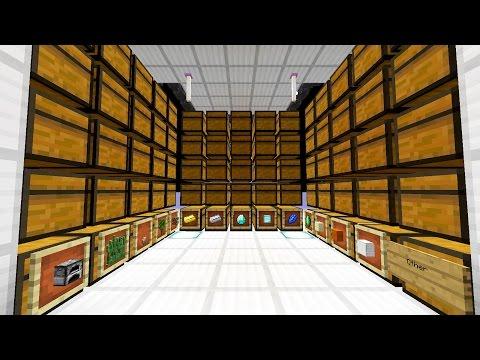 Automatic Item Storage System Tutorial
